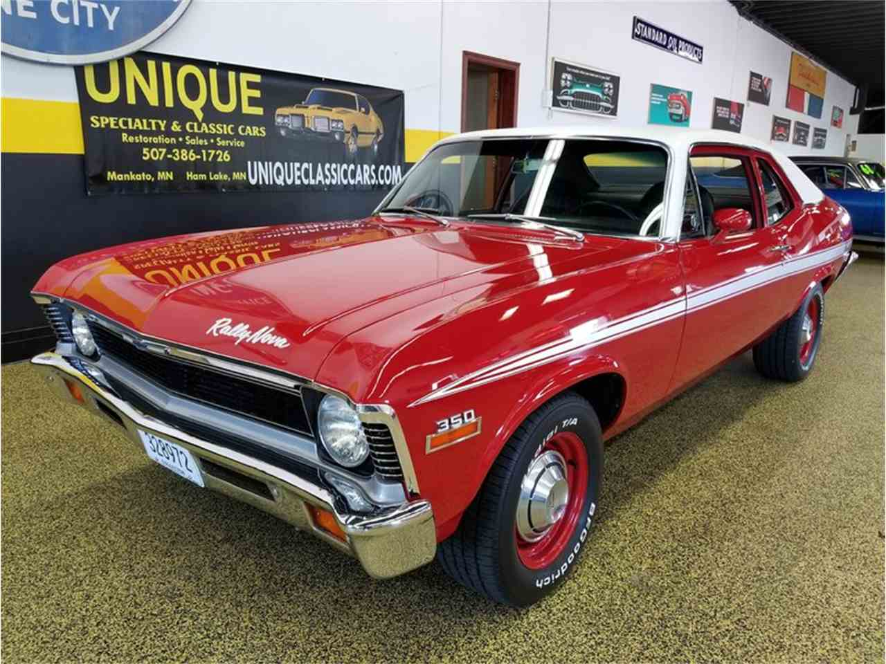 Large Picture of Classic 1972 Nova located in Mankato Minnesota Offered by Unique Specialty And Classics - LV10
