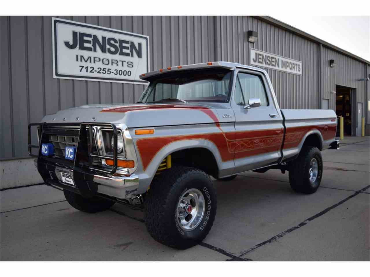 Large Picture of '78 F150 located in Sioux City Iowa Offered by Jensen Dealerships - LVTC