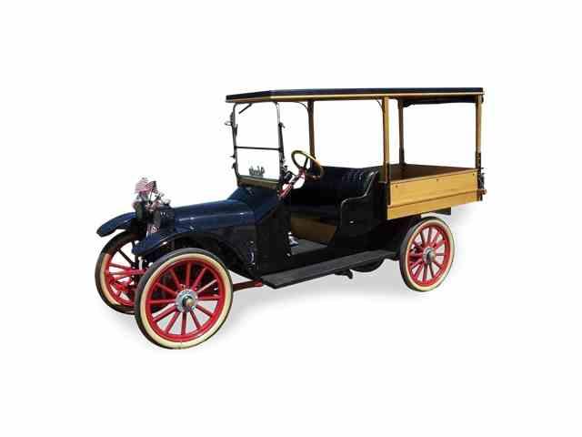 1917 Woods Woods Mobilette Sheridan Light Delivery Truck | 1021245