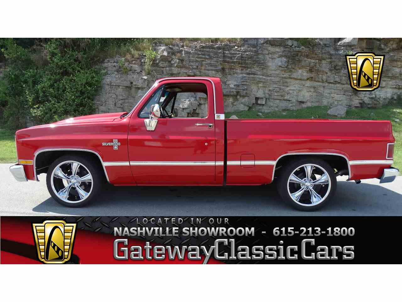 Large Picture of '83 C10 located in Tennessee - $22,995.00 Offered by Gateway Classic Cars - Nashville - LV1P