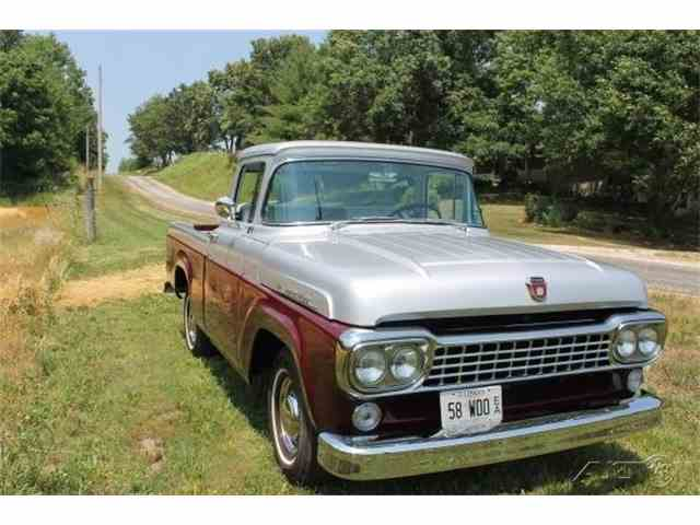 1958 Ford F100 | 1021332