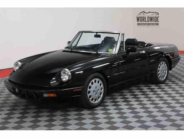 1993 Alfa Romeo Spider | 1020134