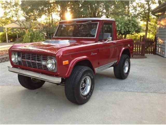 classic ford bronco for sale on 128 available. Black Bedroom Furniture Sets. Home Design Ideas