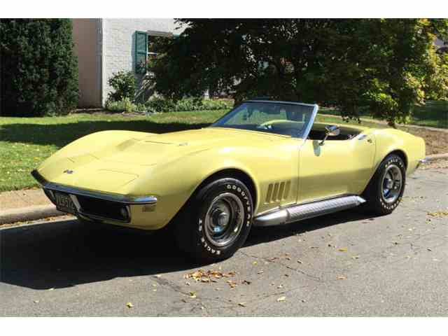 1968 chevrolet corvette for sale on 64. Black Bedroom Furniture Sets. Home Design Ideas