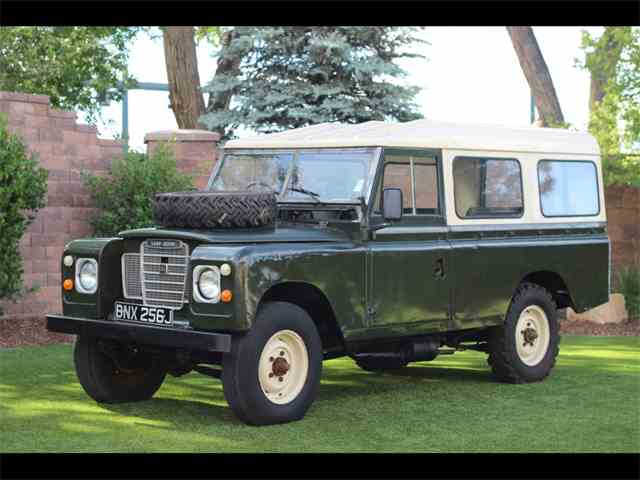 1970 Land Rover Series IIA | 1021710