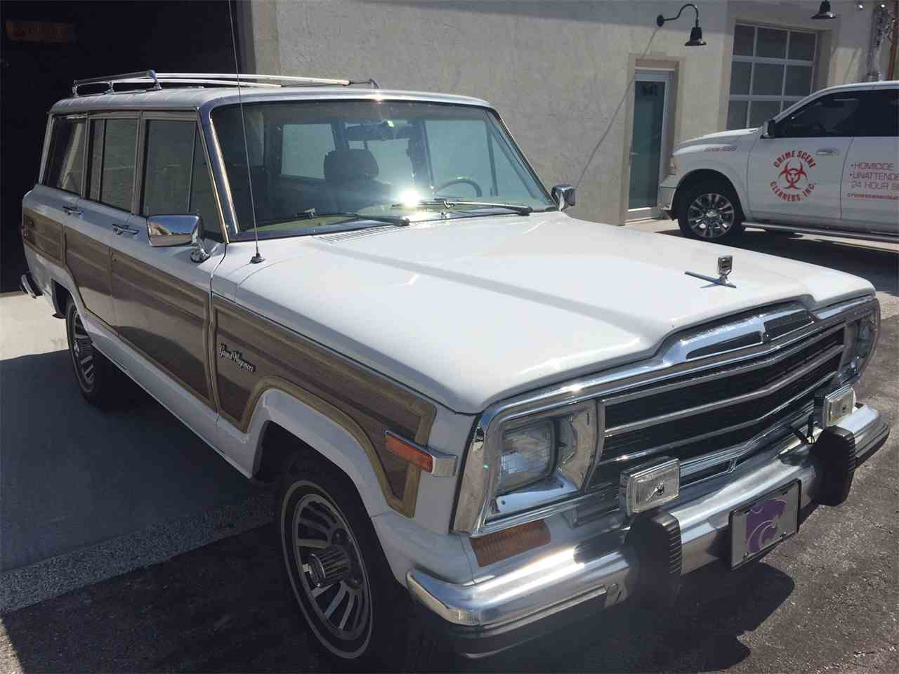 Large Picture of '91 Wagoneer Auction Vehicle - LWDY