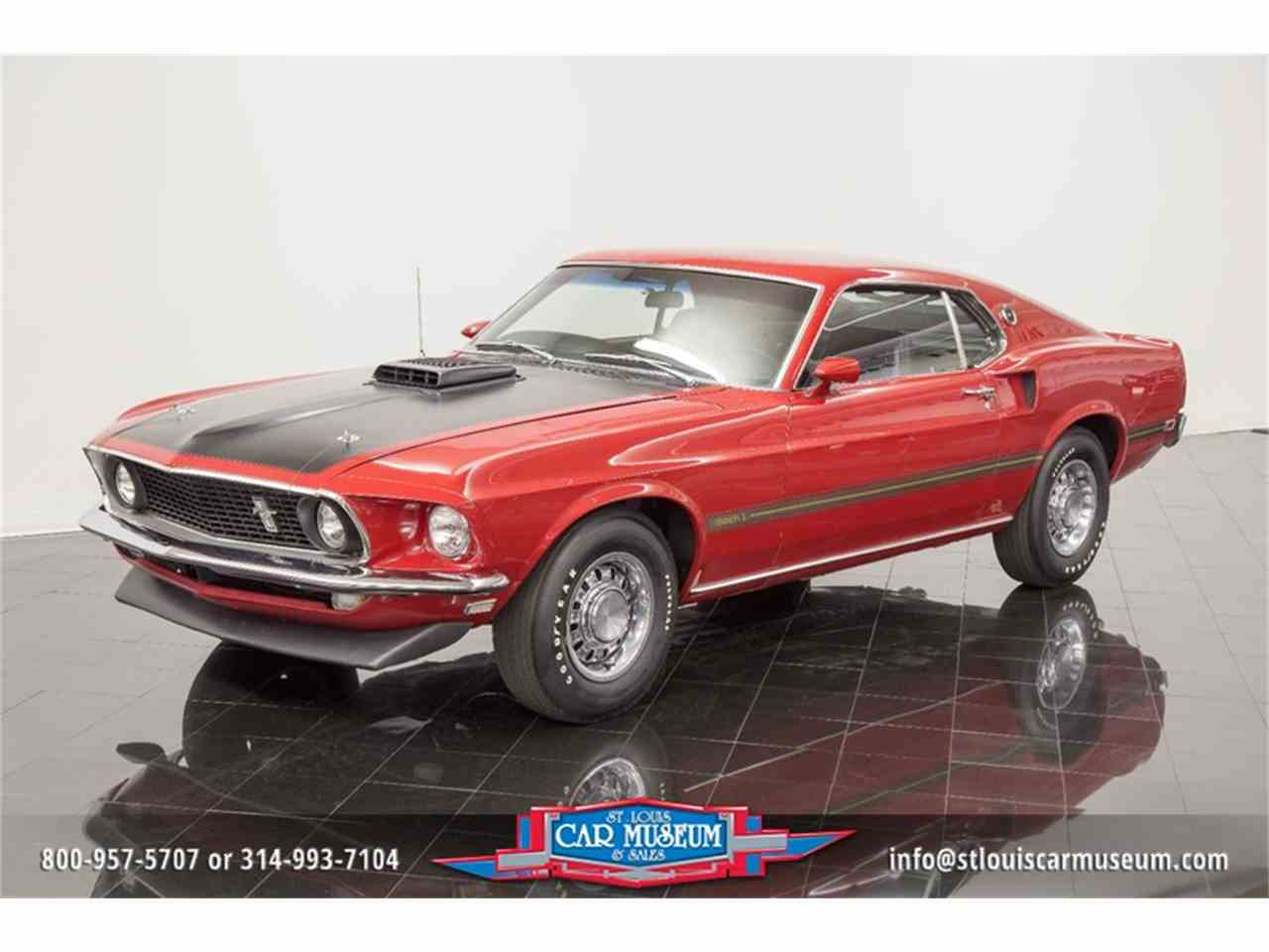 Large Picture of 1969 Mustang Mach 1 Offered by St. Louis Car Museum - LWGT