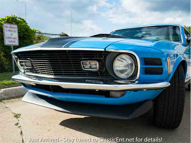 1970 Ford Mustang Mach 1 | 1021947