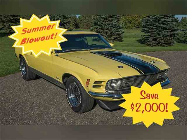 1970 Ford Mustang Mach 1 | 1022019
