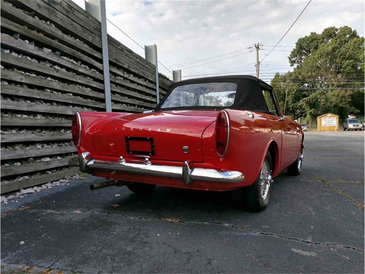 1967 Sunbeam Alpine Rootes 1725 For Sale In Greensboro North Carolina 27407 on 1967 sunbeam alpine series v 1725