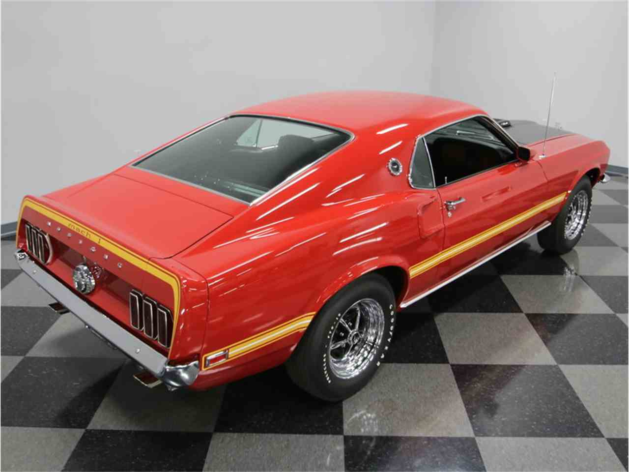 Large Picture of '69 Mustang Mach 1 - LWOD