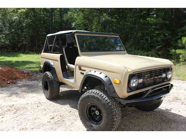 classic ford bronco for sale on 141 available. Black Bedroom Furniture Sets. Home Design Ideas