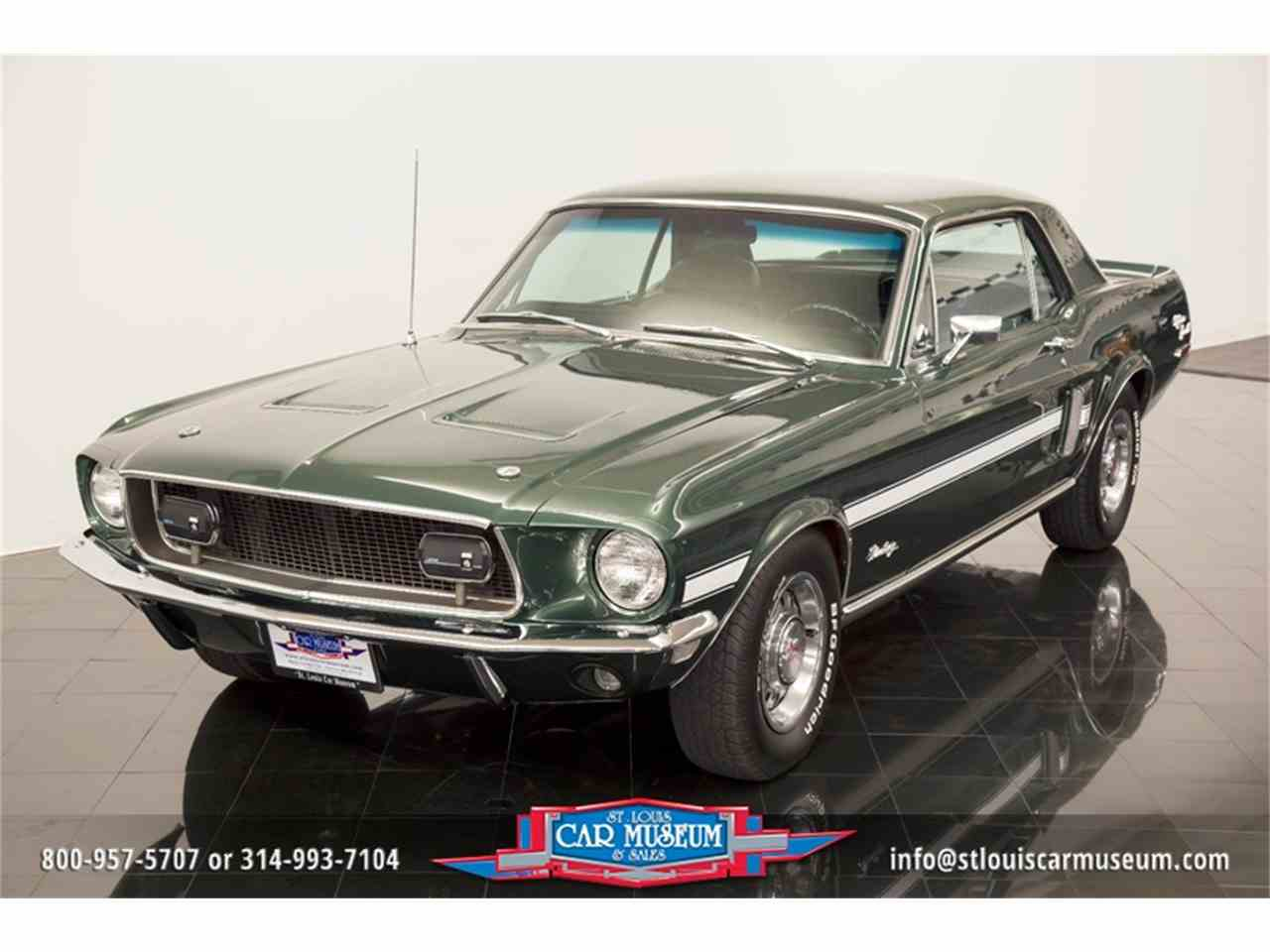 1968 ford mustang gt cs california special for sale cc 1022399. Black Bedroom Furniture Sets. Home Design Ideas