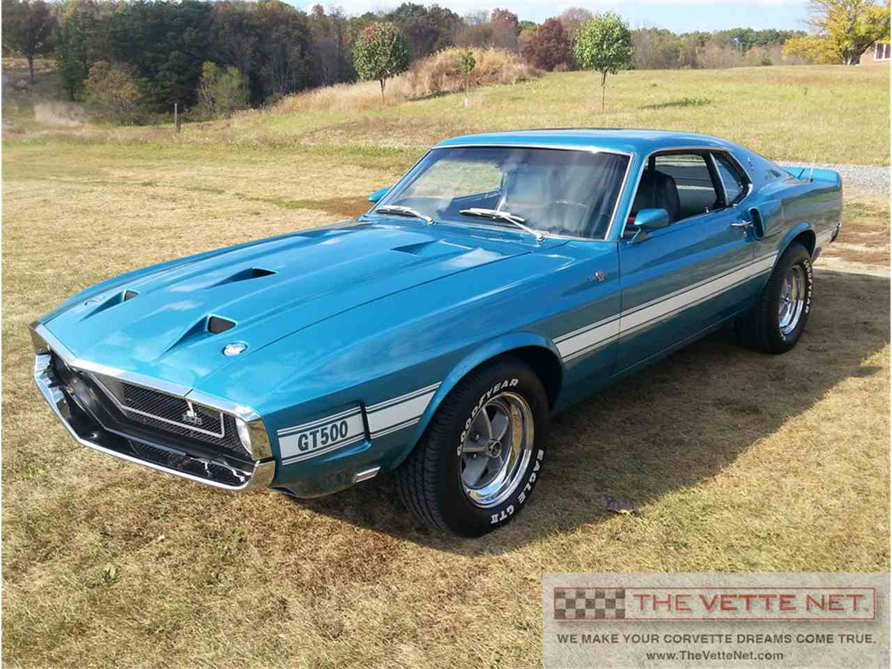 1969 ford mustang shelby gt500 for sale cc 1022473. Black Bedroom Furniture Sets. Home Design Ideas