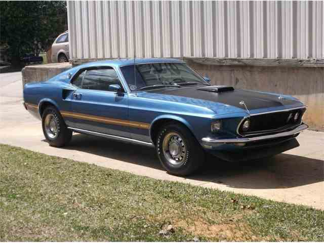 1969 ford mustang for sale on 104 available. Black Bedroom Furniture Sets. Home Design Ideas