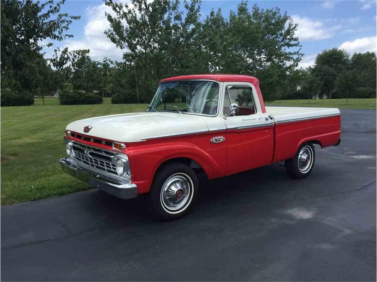 1966 ford f100 for sale cc 1022558. Black Bedroom Furniture Sets. Home Design Ideas
