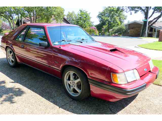 1986 Ford Mustang SVO | 1022746