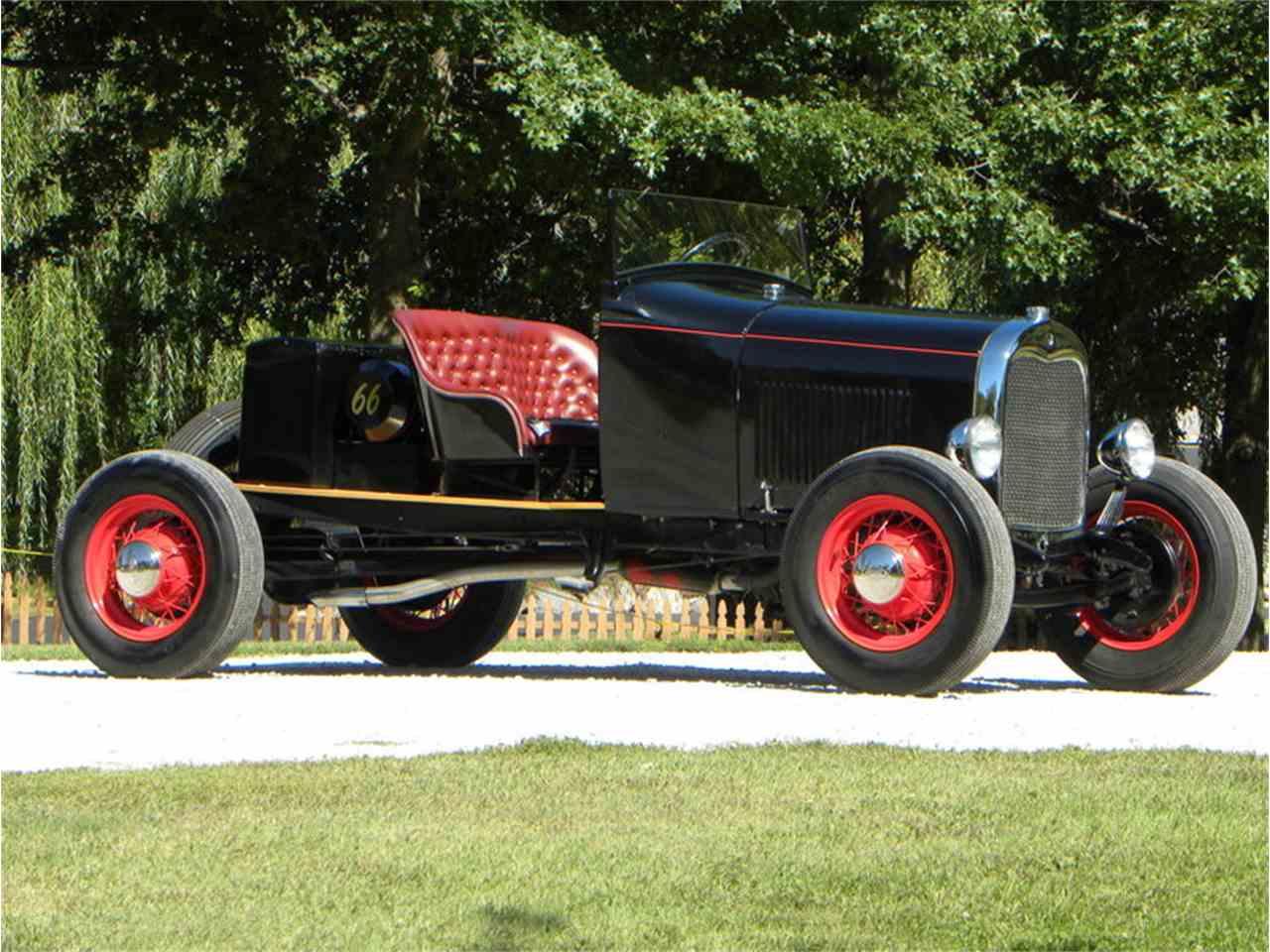1928 ford model a custom speedster for sale classiccars. Black Bedroom Furniture Sets. Home Design Ideas