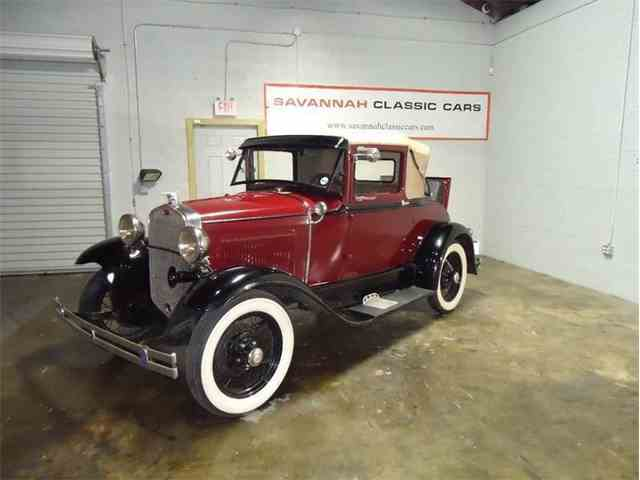 1930 Ford Model A Sport Coupe | 1022972