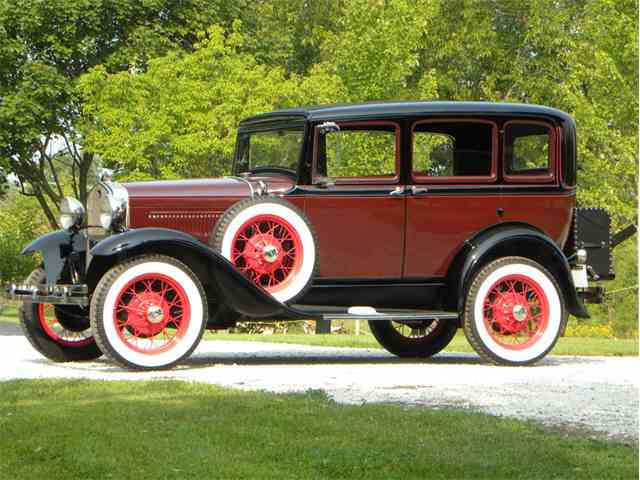 1931 Ford Model A Murray Body Town Sedan | 1020003
