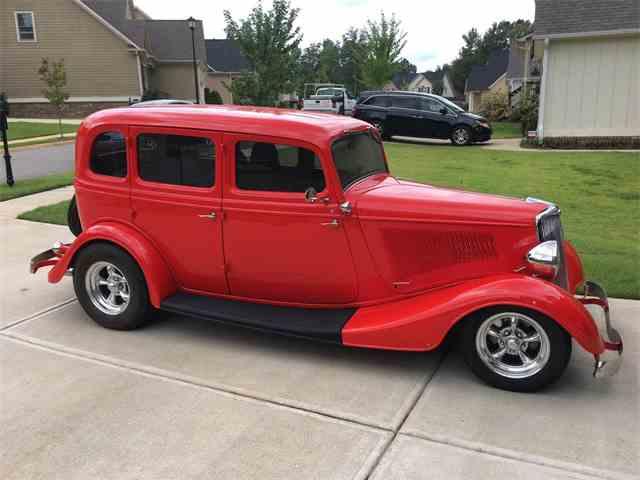 1934 Ford 4-Dr Sedan | 1023064
