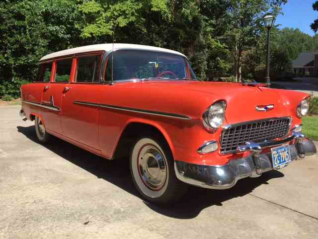 1955 Chevrolet Bel Air Station Wagon | 1023132