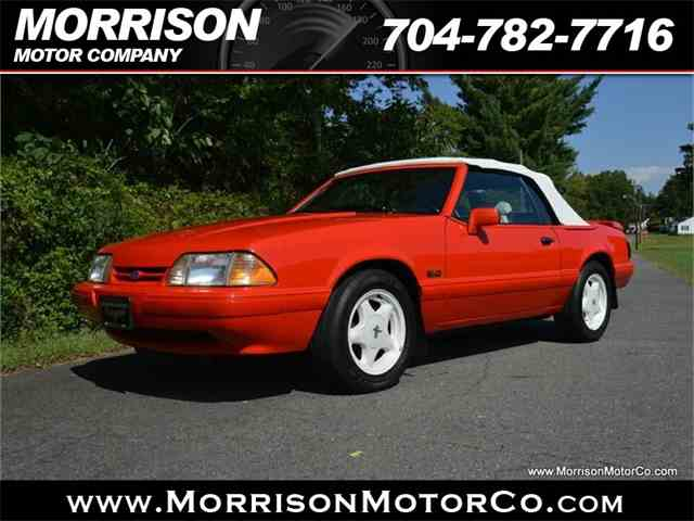 Picture of '92 Mustang - LXII