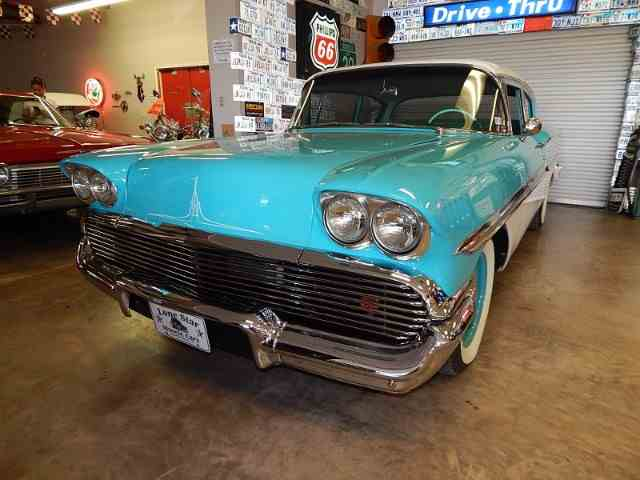 Picture of '58 Chevrolet Biscayne located in Wichita Falls Texas - $39,900.00 Offered by Lone Star Muscle Cars - LXP1