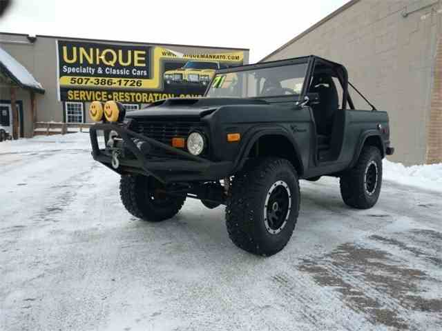 1971 Ford Bronco    4x4 | 1020035