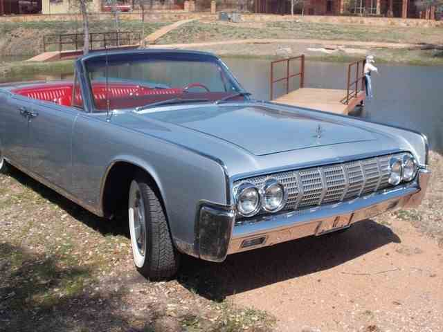 1964 lincoln continental for sale on. Black Bedroom Furniture Sets. Home Design Ideas