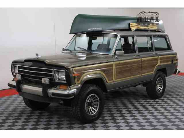 Picture of 1987 Grand Wagoneer located in Denver  Colorado Offered by Worldwide Vintage Autos - LXT0