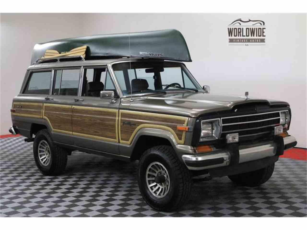 1987 jeep grand wagoneer for sale cc 1023588. Black Bedroom Furniture Sets. Home Design Ideas