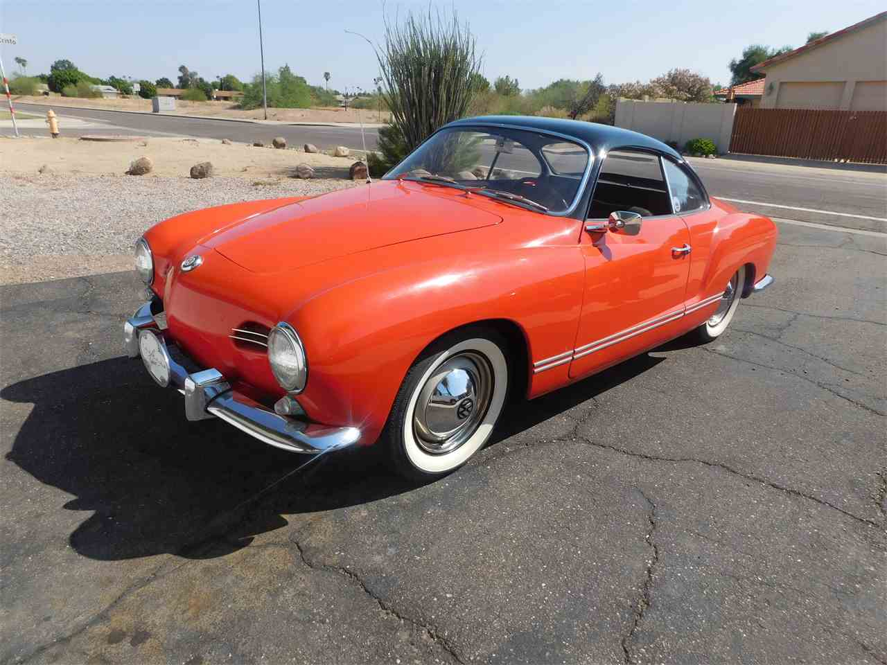 Large Picture of Classic 1956 Volkswagen Karmann Ghia located in Glendale Arizona - $33,000.00 Offered by Classic Car Pal - LVBF