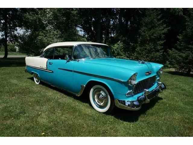 1955 Chevrolet BEL AIR 2 DR H.T. FRAME OFF | 1023633