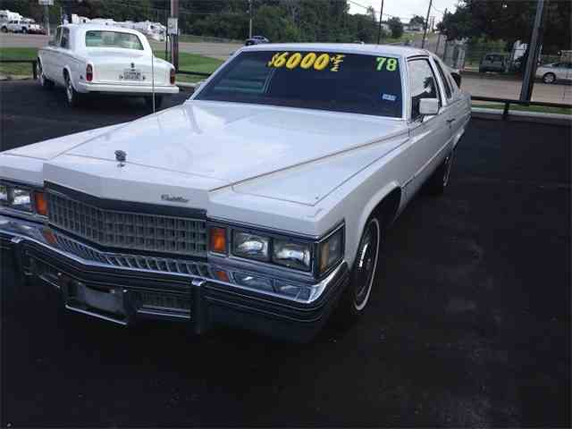 1978 Cadillac Coupe DeVille | 1023868