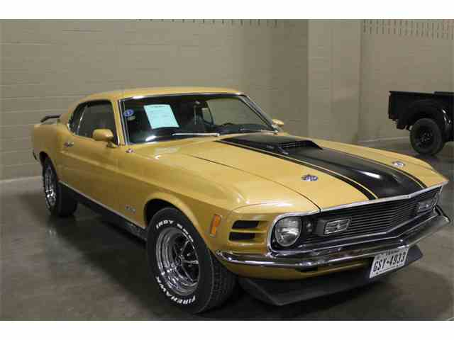 1970 Ford Mustang Mach 1 | 1023879