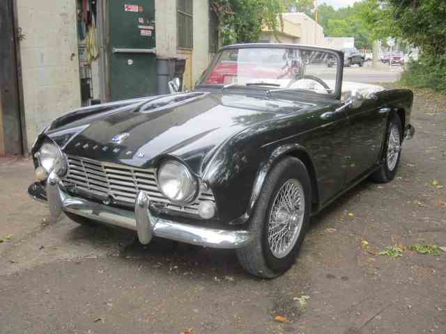 classic triumph tr4 for sale on classiccars - 17 available