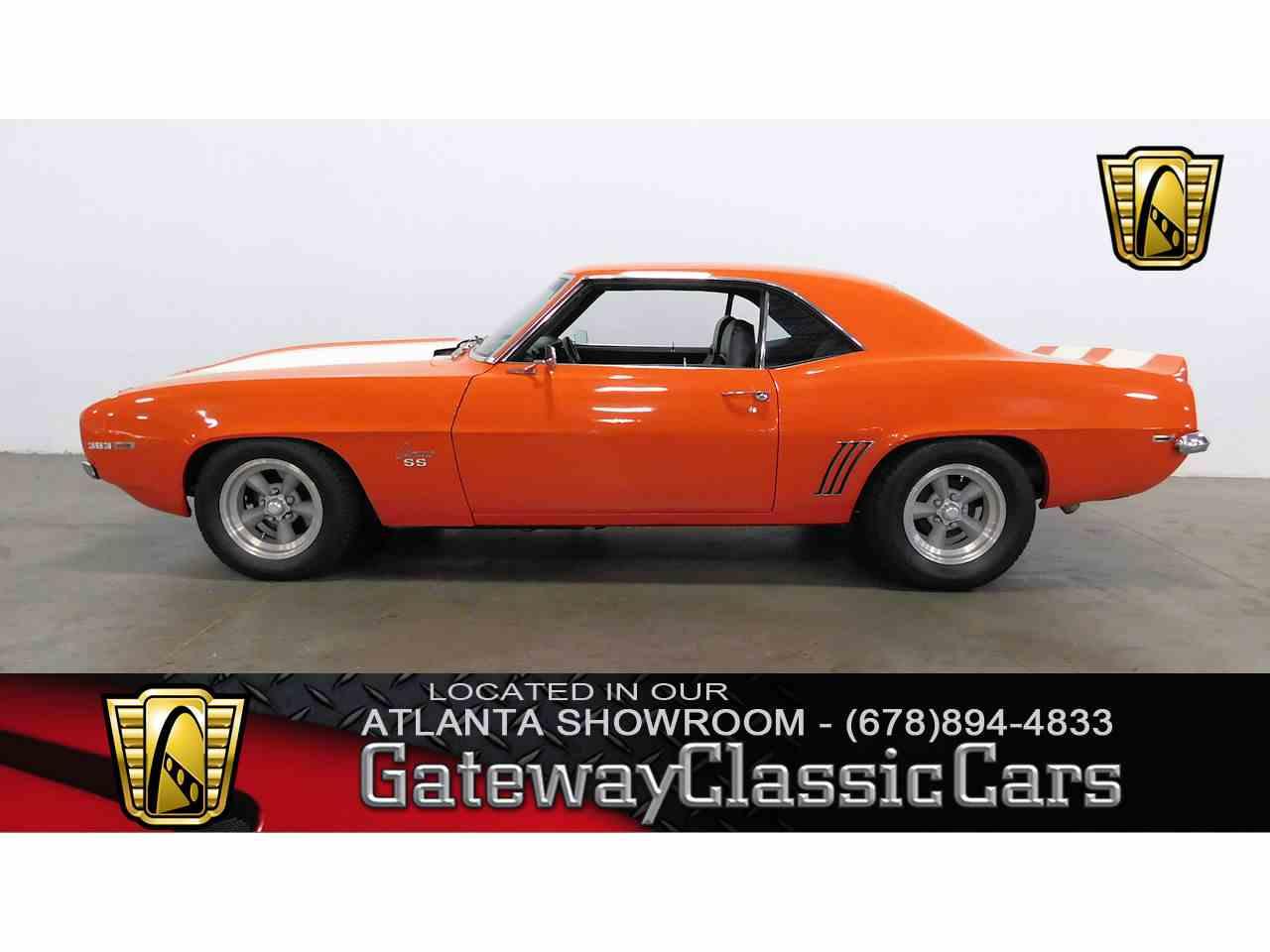 1969 camaro for sale in georgia - 1969 Chevrolet Camaro For Sale Cc 1023954
