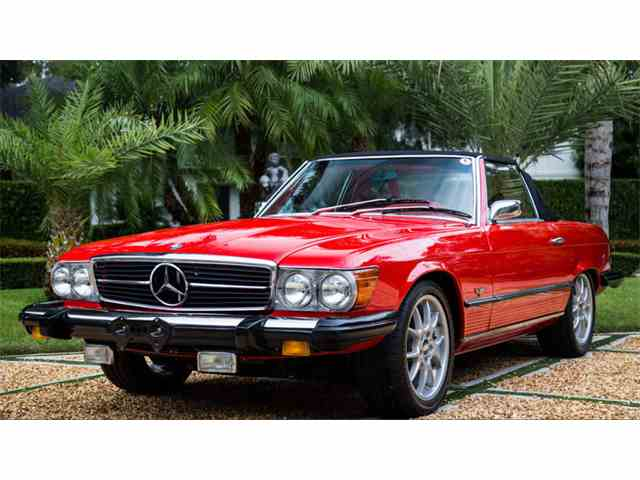 Classic Mercedes Benz 450sl For Sale On