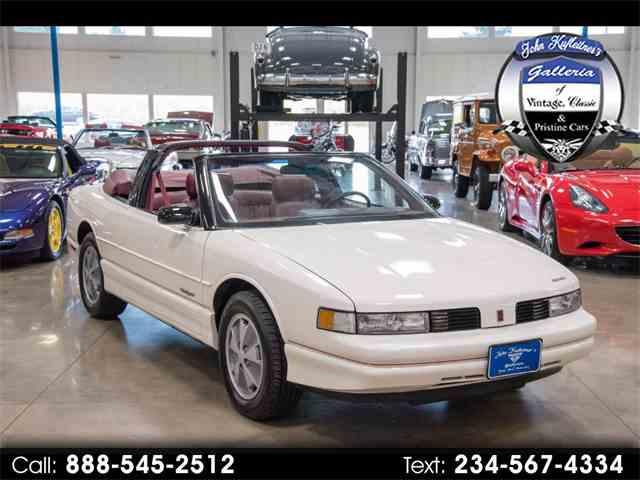 1991 Oldsmobile Cutlass Supreme   1024002