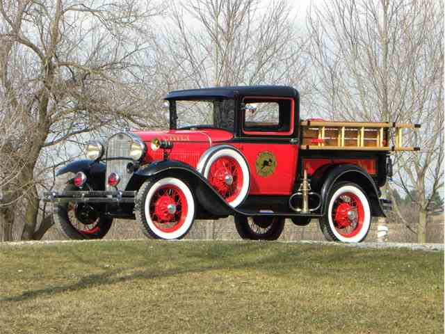 1931 Ford Model A Fire Chief Truck | 1024008