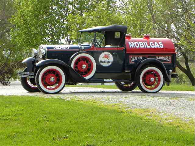 1931 Ford Model A Tribute Mobil Tanker | 1024031