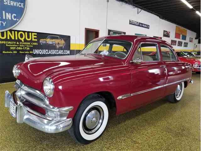 1950 Ford Customline 2dr Post   1024300