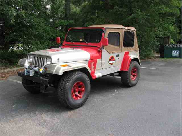 1995 Jeep Wrangler Rio Grande Jurassic Park | 1024326