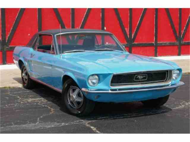 1968 Ford Mustang   1020438
