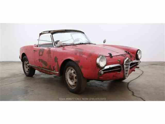 1957 Alfa Romeo Giulietta Spider | 1020441