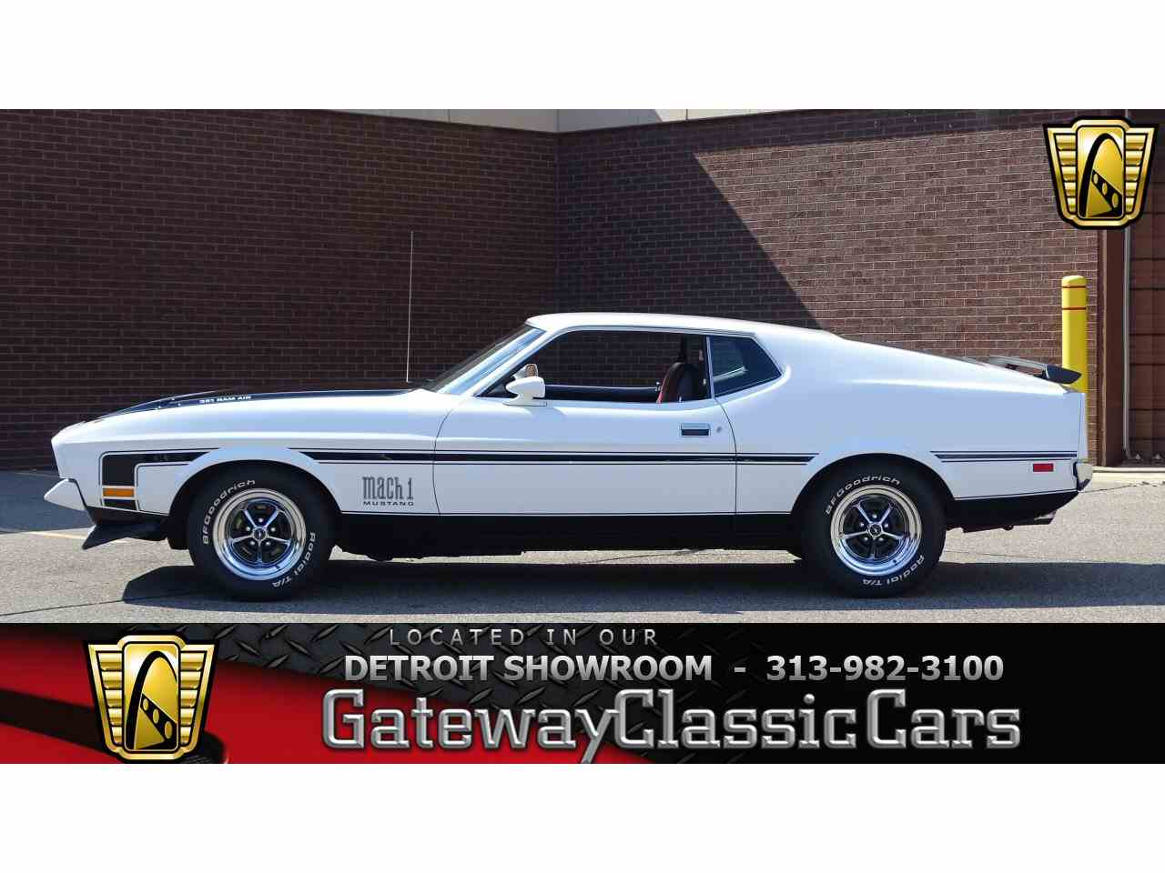 Large Picture of 1971 Ford Mustang located in Michigan - $34,995.00 - LVDW
