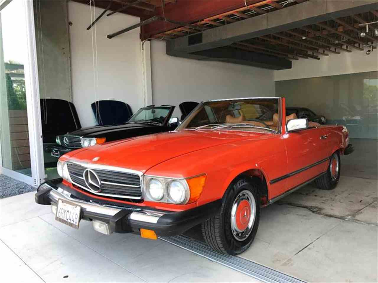 1977 mercedes benz 450sl for sale cc for Mercedes benz los angeles
