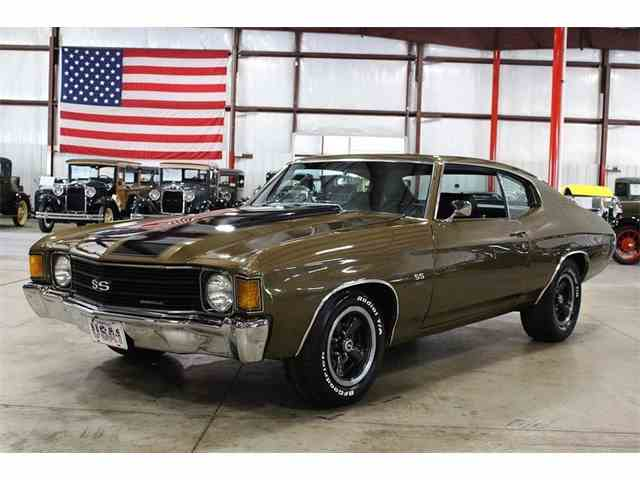 1972 Chevrolet Chevelle For Sale On Classiccars Com 63