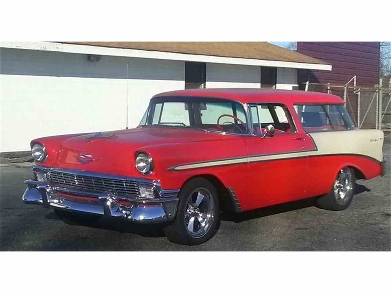 All Chevy 1956 chevy nomad for sale : 1956 Chevrolet Nomad for Sale | ClassicCars.com | CC-1024762